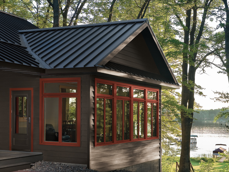 Dark Gray Metal Roof